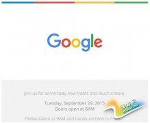 Nexus新机+安卓M 谷歌将于9.29开发布会