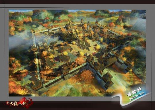 五城之一概念图