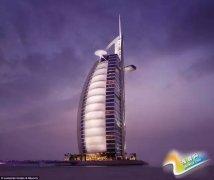 土豪留学生必去:迪拜帆船酒店闪瞎眼