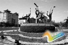 北京国庆花坛布置竣工 各类立体花坛200多处