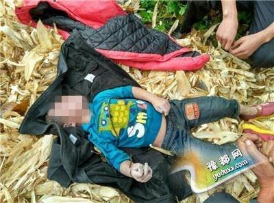 周口3岁男童丢失20小时 尸体在坑塘被找到