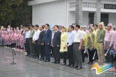 平舆县举行烈士公祭活动