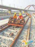 郑徐高铁河南段开始全线铺轨 明年7月开通运营