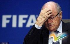 FIFA四赞助商要求布拉特辞职 遭回击:绝不离开