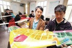 在校大学生自主创业  办航拍公司(图)