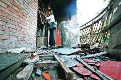 洛阳一民居液化气爆炸一人受伤 疑因伤者自杀
