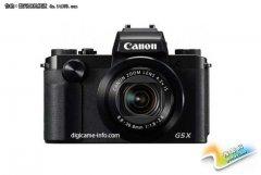 佳能高端紧凑型相机G5x和G9x规格曝光