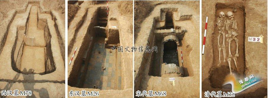河南襄城柏宁岗发现一批古代墓葬