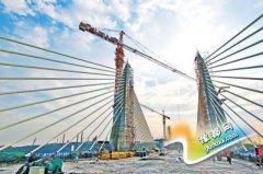 朝阳沟特大桥31日完工 郑登快速通道将全线贯通