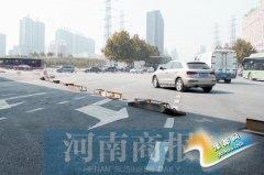 郑州航海路中州大道路口 通车时间仍无期