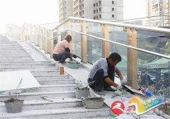 建天桥 保畅通