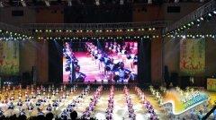 全国中小学校园啦啦操展演在郑州市金水区举行