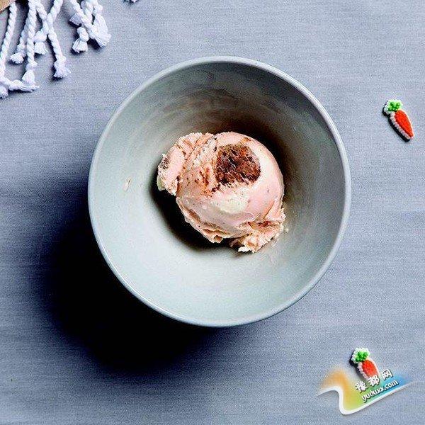 秋日里的盛夏滋味 来一勺盐水秸秆草冰淇淋