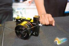 4240万像素背照全幅 索尼RX1RII相机展出
