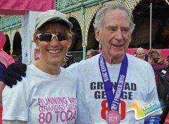 英国80岁老人盼实现8大锻炼计划 距离超250公里