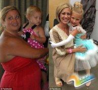 美国女孩曾因太胖拒拍全家福 决心减肥瘦身70磅