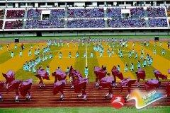 晚报: 我市第二届运动会暨首届全民健身大会开幕