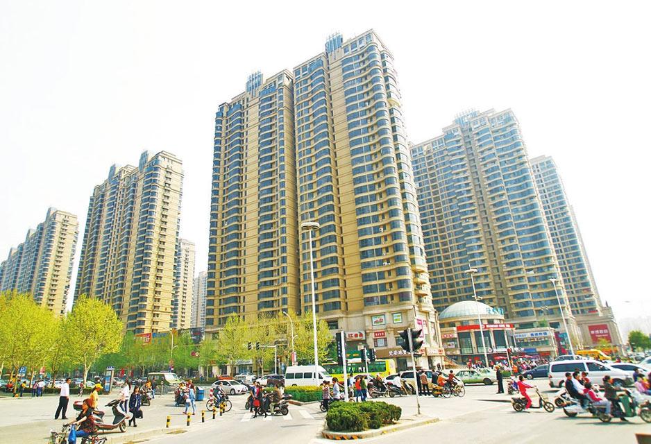 2014年4月2日,燕庄已经被高楼大厦所取代。