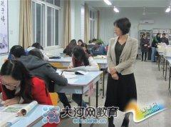"""郑州47中举行第三届""""青课赛"""""""