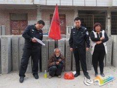 卢氏县七旬老人迷路 民警通过微信朋友圈帮助找到家人