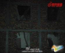 郑州城中村7层楼倒塌 3名工人被埋身亡