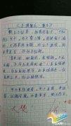 小学生作业版:《水调歌头 假日》