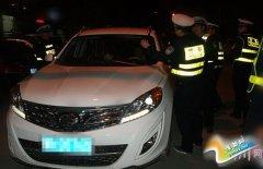 交警大队:开展酒驾整治行动
