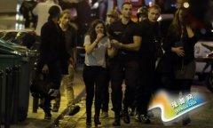法国枪击爆炸事件造成60人死 上百人被劫持(图)