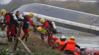 法国一试验高速火车脱轨 10人丧生
