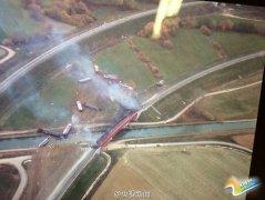 法国高速列车在法德边境附近出轨 10死32伤(图)