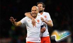 热身赛-罗本2球+绝杀多斯特传射 荷兰3-2威尔士