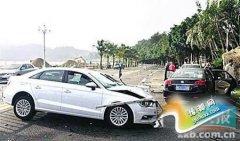 """女司机出车祸称因来""""月事"""""""