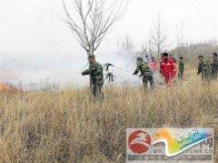 森林防火演练安全重在防范
