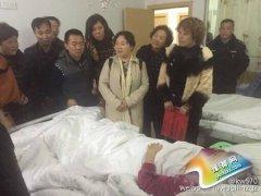 网络求救 迎来爱心人士走进医院捐助肝癌患者――赵兰