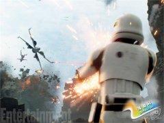 《星球大战7》首发预告惨遭美军恶搞 拖把桶亮了!