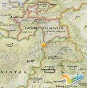 阿富汗东部发生5.9级地震 暂未有人员伤亡报告