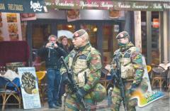 布鲁塞尔进入最高警戒 级别罕见震惊欧洲