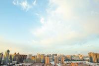 阳光吻上雪的脸 郑州天蓝人欢