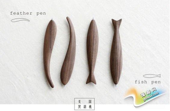 打破笔的常规形态 本来设计FISH PEN温暖袭来