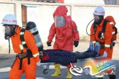 卢氏县组织开展易燃易爆场所综合应急救援演练