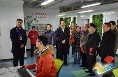 中原区委常委、统战部长王正轩率队到高新区等考察创新创业工作