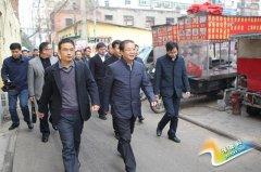 """区委书记王东亮、区长虎强调研棚户区改造和""""两院""""项目征迁工作"""