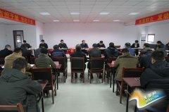区委书记王东亮赴十八里河镇调研合村并城工作