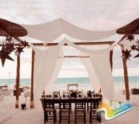 沙滩婚礼流程及布置详情 打造至纯至美的创意婚礼