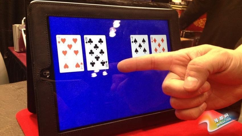 魔术iPad应用:这是Fantasma Toys推出的一个应用,让你在iPad的帮助下玩牌和表演魔术。应用是免费的,其他配件则需要购买。