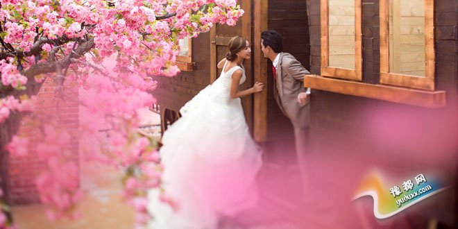 胖新娘婚纱照姿势 巧用技巧拍出S型曲线婚纱照