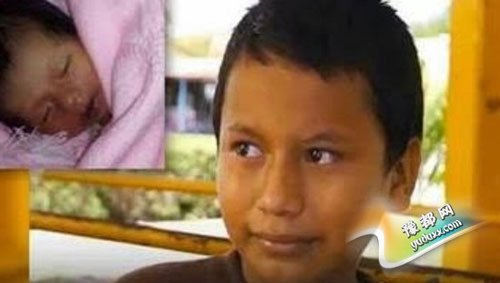 11岁男孩被迫与16岁妻子同居产子   成最年轻的爸爸