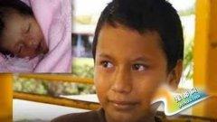 11岁男孩被迫与16岁妻子同居产子 成最年轻爸爸
