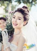 韩式婚纱照新娘造型特点 整体造型欣赏