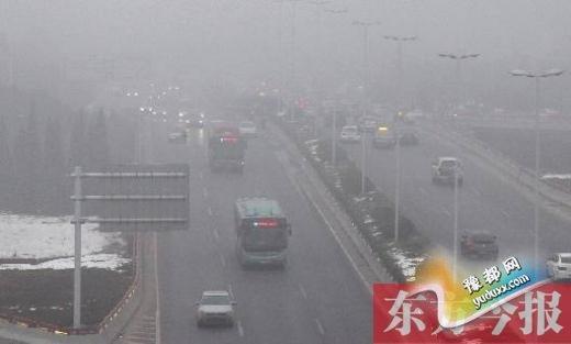 郑州启动Ⅰ级应急减排措施 未来几天仍有雾霾